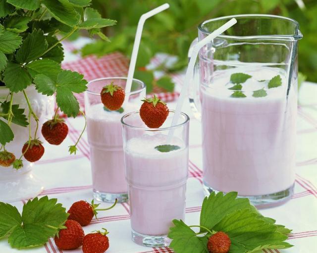 молочный напиток для детей рецепт
