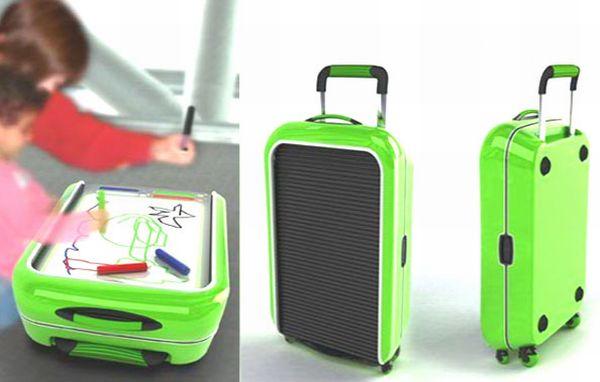 Оригинальные чемоданы путешествий рюкзаки для куклы
