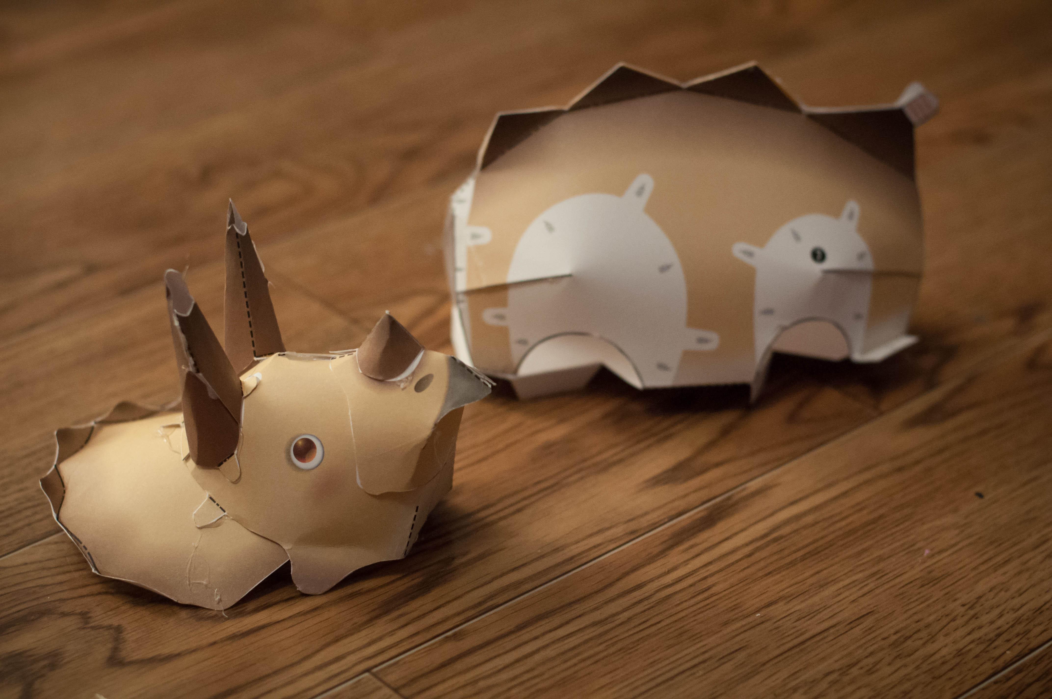 лев из оригами (картинки)(инструкция)