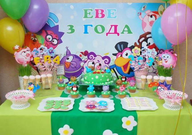 как отметить день рождения ребенка 3 х лет темы декор игры и