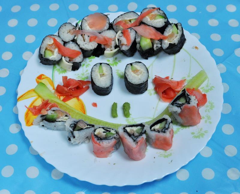 Мастер класс по суши и роллам для детей - Авто Шарм