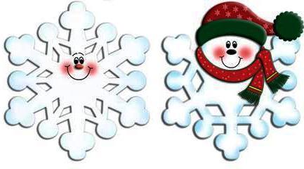 Смешные снежинки своими руками