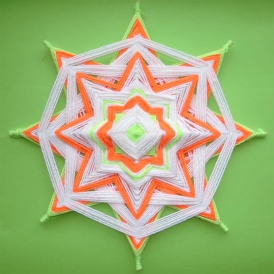 Плетение мандалы мастер класс подробно #10