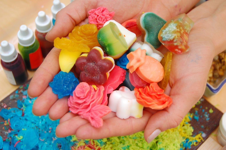 Мыло из детского мыла своими руками